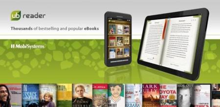 UB Reader, leyendo ebooks con un buen diseño y buenas funcionalidades
