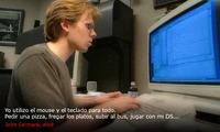 John Carmack es de la vieja escuela, prefiere un Mouse y un teclado para los FPS
