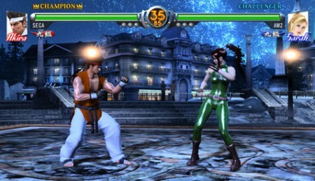 Virtua Fighter 5 de 360 con multijugador online