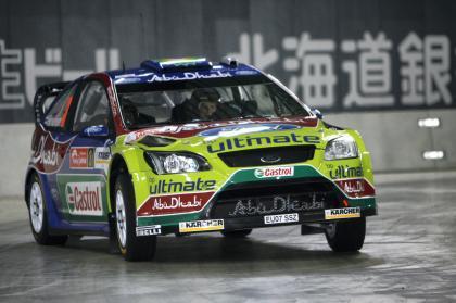 Mikko Hirvonen manda y Sébastien Loeb asegura