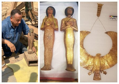 Saqqara Egipto Collage