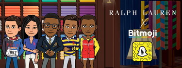 Tu Bitmoji más fashion que nunca: Ralph Lauren lanza una colección completa para los avatares de Snapchat
