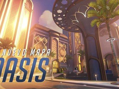 El nuevo trailer de Overwatch te lleva de tour por Oasis, el nuevo mapa de control que ya está disponible