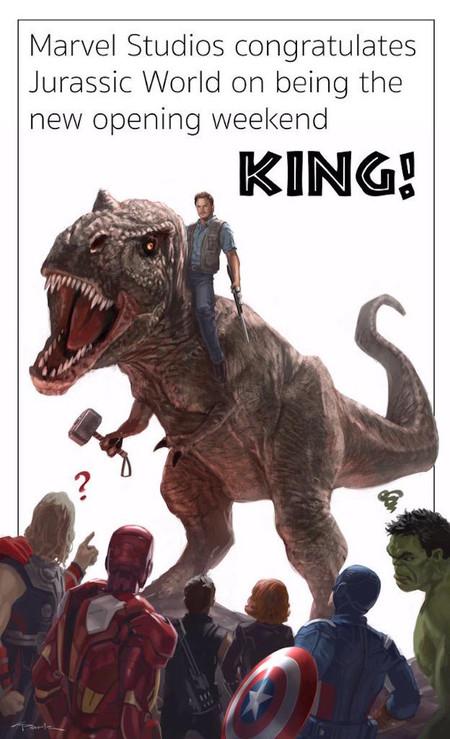 2015 Avengers Jurassic World
