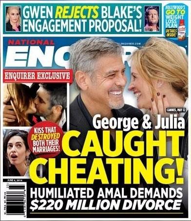 George y Julia se quieren