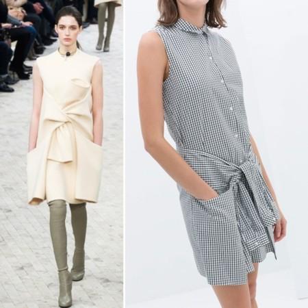 Clonados y pillados: el vestido Céline de la pasada ...