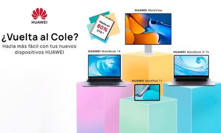 Las ofertas de Huawei para la Vuelta al cole: estrena tablet, smartphone, portátil, monitor o smartwatch al mejor precio