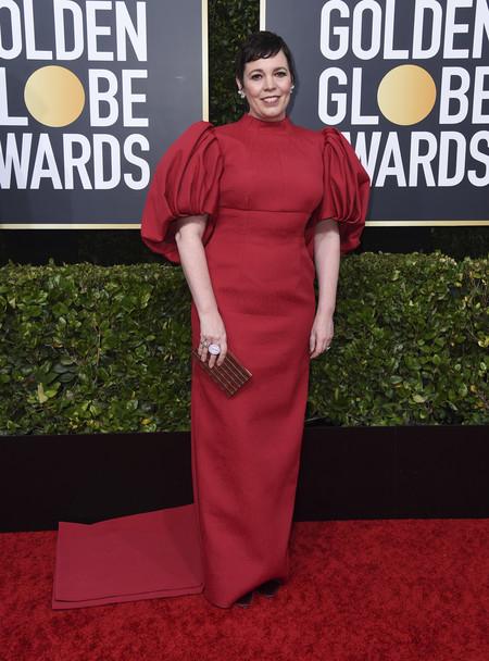 Olivia Colman globos de oro 2020