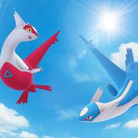 Latios y Latias surcarán los cielos de Pokémon GO durante un par de meses