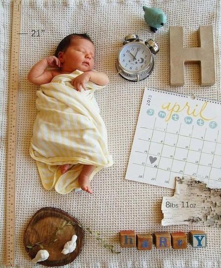 Siete ideas originales para anunciar el nacimiento de tu beb for Fotos originales de bebes para hacer en casa