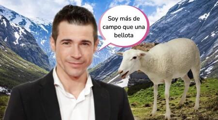 Juan José Ballesta rehace su vida y se muda al campo con su nueva churri, dos ovejas y una cabra
