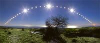 Fotografía del solsticio de diciembre