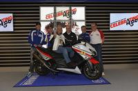 Giacomo Agostini cumple 70 años y lo celebra en Silverstone con Yamaha
