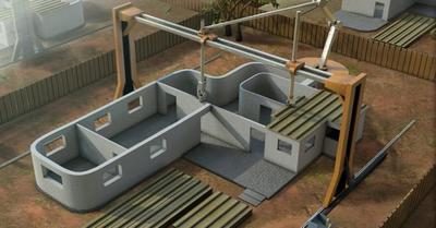 Tu próxima casa podría estar impresa en 3D y en un tiempo récord