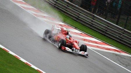 GP de Bélgica de Fórmula 1: Fernando Alonso y Ferrari, tanto pensaron en la lluvia que se ahogaron