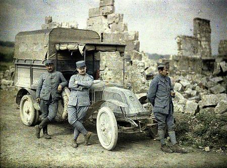 Así es como el automóvil se impuso en los ejércitos