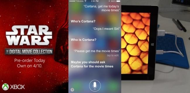 Starwars Siri Surface