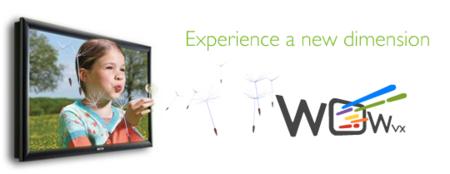 Philips avanza hacia la televisión 3D con WOWvx