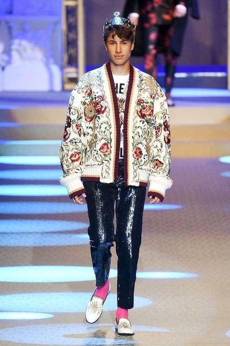 Maluma Y Demas Millennials Llevan Su Influencia Latina Al Desfile De Dolce Gabbana En Milan 02