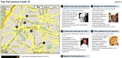 Restaurantes con chefs femeninos en París