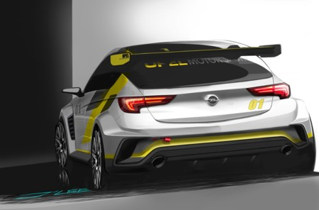Opel Astra Tcr 1