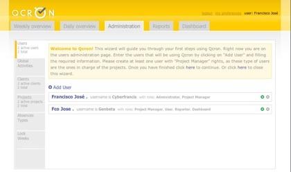 Qcron, sencilla herramienta para la gestión de nuestros proyectos