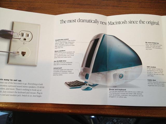 Manual del primer iMac
