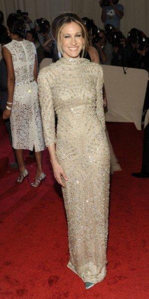 El look de Sarah Jessica Parker en la gala MET 2011