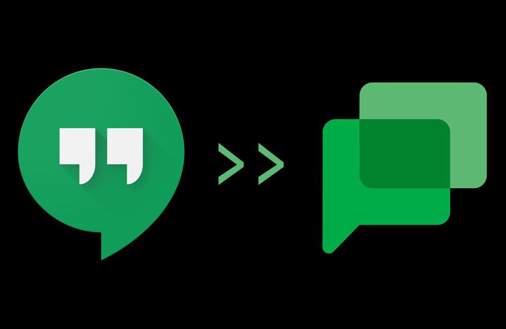 Google Chat prepara la vista previa de la transición de Hangouts