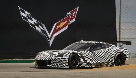 El nuevo Chevrolet Corvette C7.R se deja ver en Laguna Seca