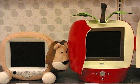 Esperando al televisor de Apple