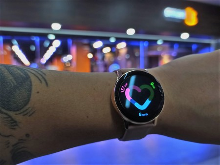 Samsung Galaxy Watch Active 2 Analisis Mexico Software Actividad Fisica