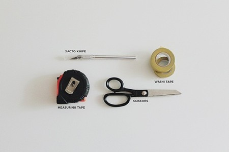 puertas washi tape material