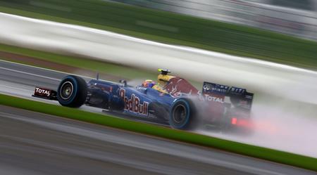 La lluvia desluce la primera jornada del Gran Premio de Gran Bretaña