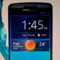 Sony Ericsson Xperia Duo, ¿imagen de su primer terminal con doble núcleo?