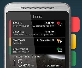 Intelligent Home Screen, un diseño de pantalla de inicio para Android