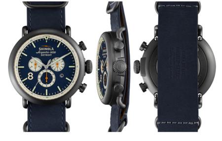 Reloj Shinola Runwell Contrast Chrono, moderno y elegante