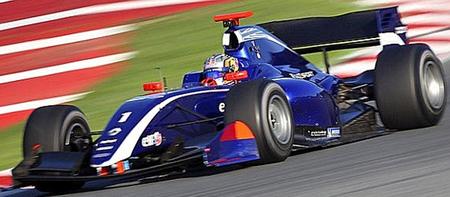 Carlos Sainz Jr Carlin Barcelona FR3.5