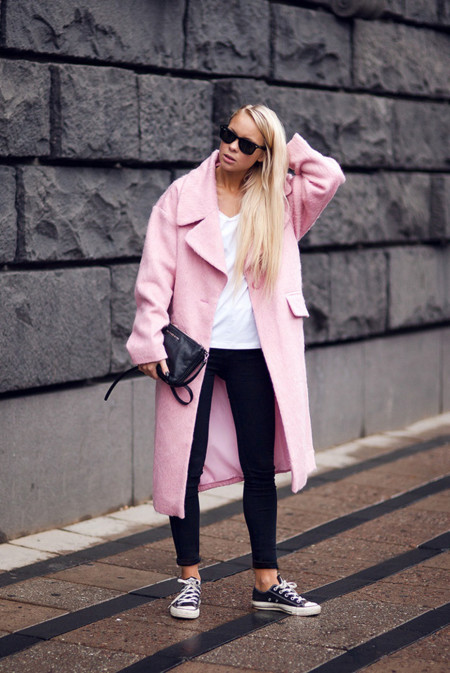 Las 10 tendencias clave más vistas de 2013 abrigos candy rosa