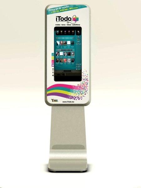 Instalan los primeros dos kioskos digitales en la ciudad de México