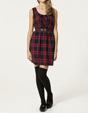 Rebajas 2011: Zara vestidos de cuadros