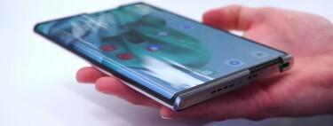 El teléfono enrollable de OPPO se deja ver en vídeo mostrando su funcionamiento