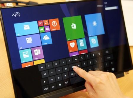 Portátiles más delgados y ligeros gracias a las nuevas pantallas táctiles de LG