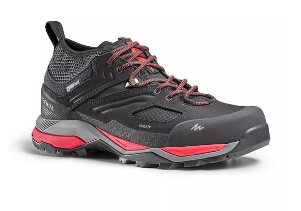 Zapatillas Impermeables de Montaña y Trekking Quechua MH900 Hombre Negro