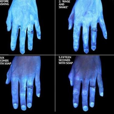 El impactante experimento que muestra la importancia de un correcto lavado de manos