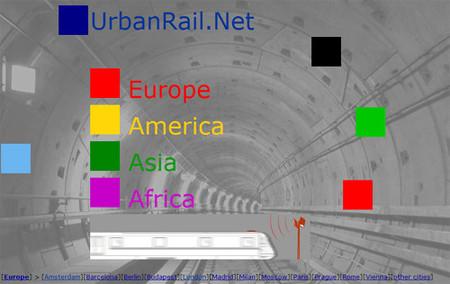 UrbanRail.net, mapas de metro de todo el mundo