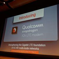 Snapdragon X24: Qualcomm da el salto a los 7 nanómetros con su nuevo módem LTE capaz de navegar a 2 Gbps