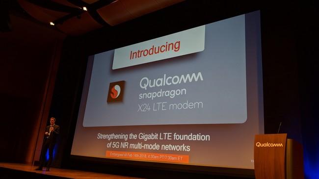 Qualcomm X24 Modem Lte 2 Gbps