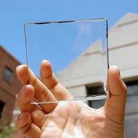 Células transparentes convierten las ventanas en paneles solares