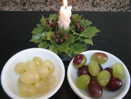 Análisis nutricional de las 12 uvas de la suerte
